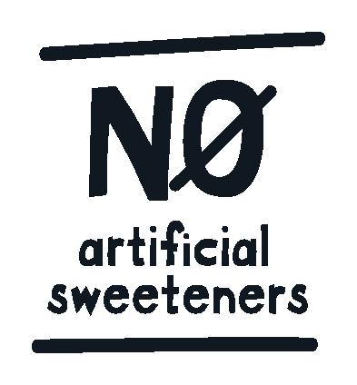 No artificial sweeteners