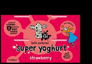 Kefir Kids Strawberry Super Yoghurt