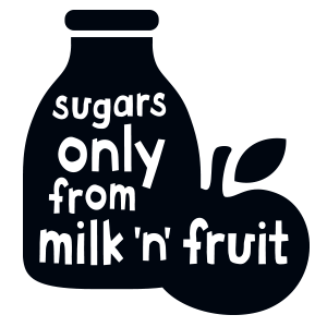 Sugars only milk n fruit - Kefir Kids